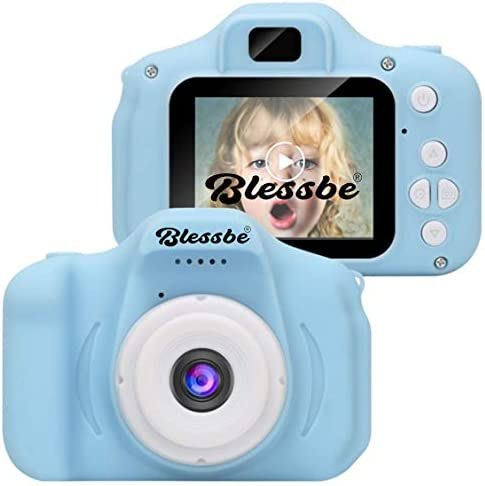 BLESSBE Kids Digital Camera, Web Camera for Computer Child Video Recorder Camera Full HD 1080P Handy Portable Camera ...