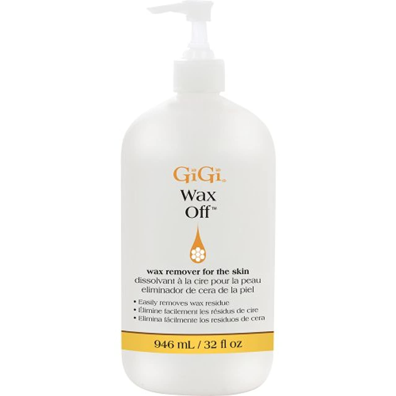 GiGi Wax Off - After Wax Remover for the Skin with Aloe Vera, 32 oz