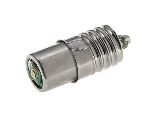 EBS-SYSTART GmbH EnLightPro10 – Fahrrad-LED-Birne Schraubsockel E10 | Fahrradlampe für Dynamo-Betrieb | Super Heller Ersatz für die Fahrrad-Glühbirne