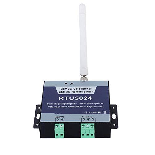 Apriporta per cancello GSM, sistema di allarme per controllo accessi di sicurezza domestica con interruttore on/off remoto Chiamata SMS gratuita