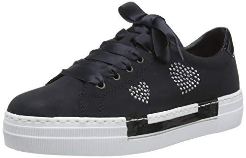 Rieker Damen Frühjahr/Sommer N4908 Sneaker, Blau (Pazifik/Marine/ 14 14), 40 EU