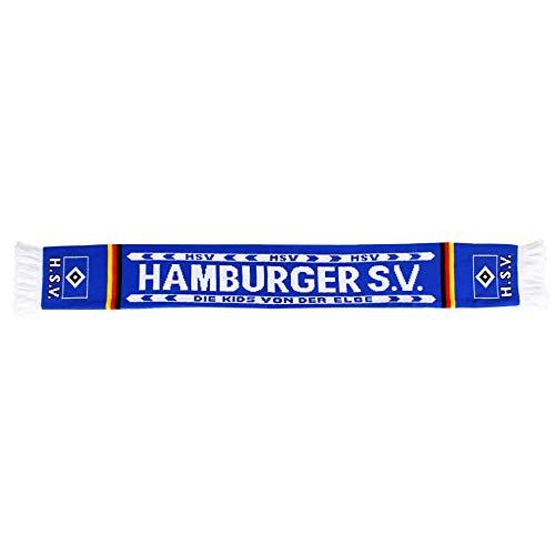 """Hamburger SV HSV Schal Fanschal """" Kids von der Elbe"""" 120 x 15cm"""