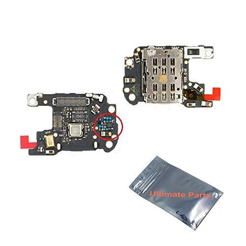 UP! ULTIMATE PARTS - Huawei P30 Pro VOG-L29B Platine Lecteur pour Carte SIM + Microphone + Prise Coaxial 100% Original Constructeur