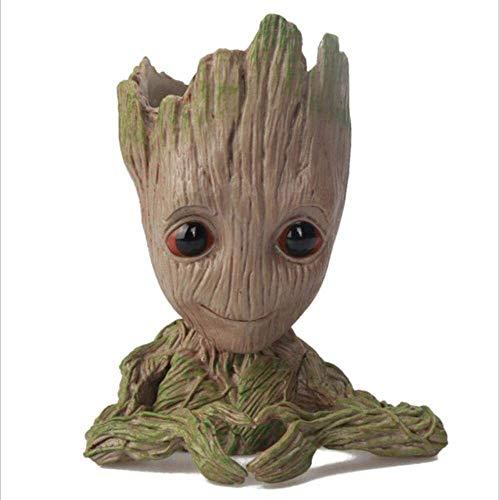 RENFEIYUAN Figuras Baby Flowerpot Flowot Pot Planter Figuras de acción Guardianes de la Galaxia Toy Tree Man Cute Modelo de Juguete Pot, 1 Groot Maceta (Color : 5)