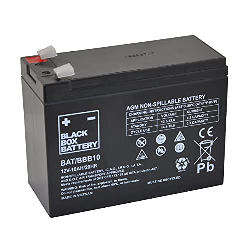 12V 10Ah BBB Sealed Lead Acid (AGM) Mobility Scooter Battery