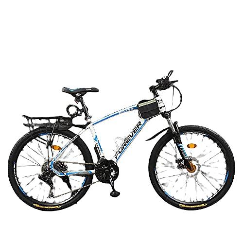 Bicicleta, Niños Y Niñas, Fuerte Veloz Rápido, Vehículo Todoterreno De La Montaña-Radios_26 Pulgadas 24 Velocidad,Adultos Unisex