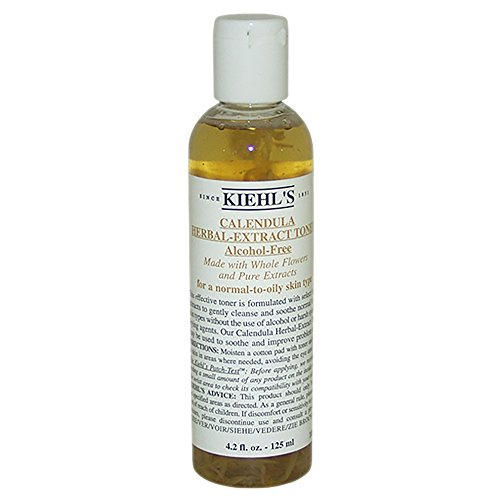 Kiehl's Calendula Herbal Extract Alcohol-Free Toner (Normal to Oil Skin) 125ml/4.2oz - Hautpflege