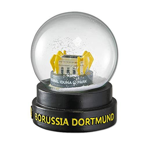 Borussia Dortmund Schneekugel, Traumkugel, Schüttelkugel, Weihnachtsdeko BVB 09