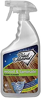 Black Diamond Stoneworks Wood & Laminate Floor Cleaner: For Hardwood, Real, Natural..