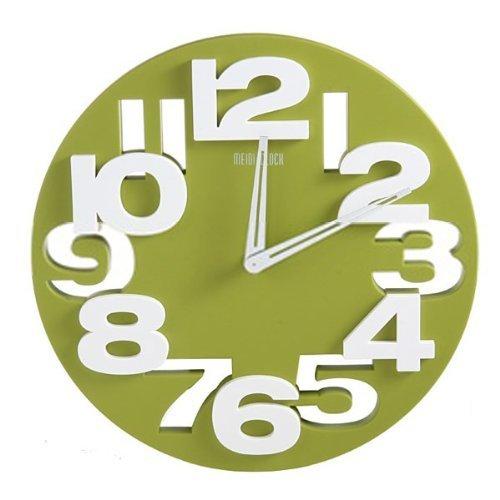 GMMH 3 D con diseño Moderno Reloj de Pared de Cocina baduhr Oficina Reloj de la decoración Tranquila 8808