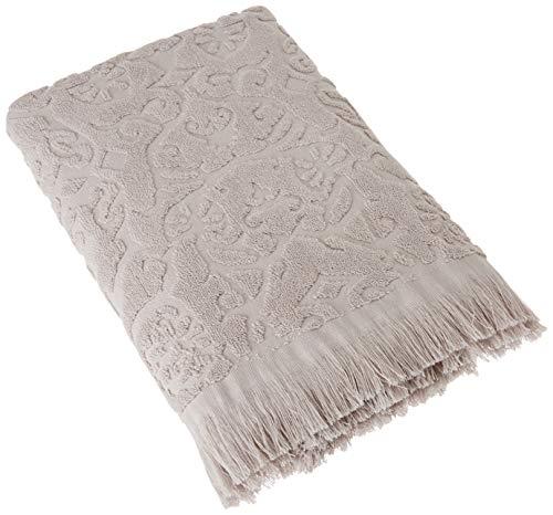 Blanc des Vosges Princesse Drap de douche Coton Perle 140 x 70 cm