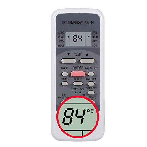 CHOUBENBEN Replacement for Frigidaire Portable Air Conditioner Remote Control FRA073PU1 FRA073PU10 FRA073PU11 FRA073PU112 FRA073PU113 FRA073PU114 FRA073PU115