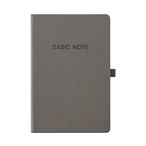 Cuadernos de Diario en Blanco de Papel Rayado Plan Simple Business A5 Notebooks Grid Notebook Papel Cuadriculado Bloc de Notas Suministros de Oficina for Estudiantes Paquete de Trabajo Escolar Diario