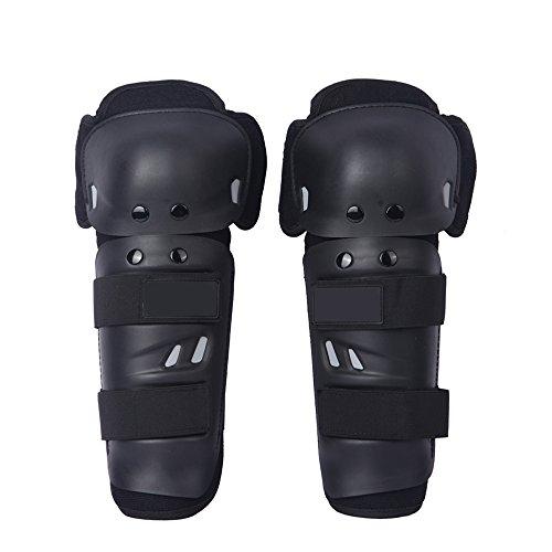 Docooler - Par de rodilleras para moto racing, protectores de rodilla con...