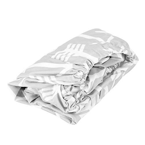 Tvättbar och färgfast Polyester Baby Skötbäddsöverdrag Mjukt andningsbar Baby Skötbord Pad Cover, för nyfödd omklädningsöverdrag(arrow)