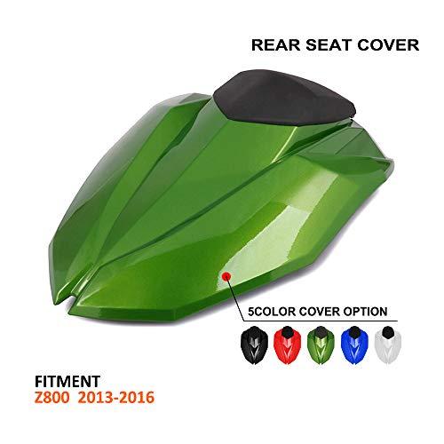 JFG RACING - Cubierta para Asiento Trasero de Motocicleta Kawasaki Z800 2013-2016