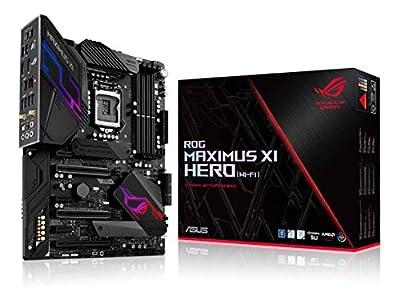 ASUS ROG Maximus XI Hero (Wi-Fi) Z390 Gaming Motherboard LGA1151 (Intel 8th 9th Gen) ATX DDR4 DP HDMI M.2 USB 3.1 Gen2 802.11AC Wi-Fi