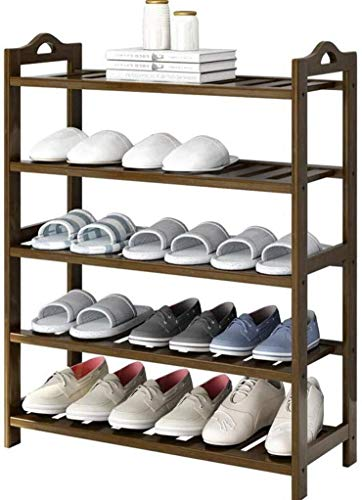CXVBVNGHDF Zapatero Multicapa para Guardar Muebles de gabinete Simplicidad Creativa Estantes organizadores de bambú (tamaño: 70 * 24 * 90 cm)