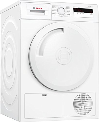 Bosch WTH83001 Serie 4 Wärmepumpentrockner / Energieeffizienz A+ / 233 kWh/Jahr / 7 kg / weiß / AutoDry / EasyClean Filter