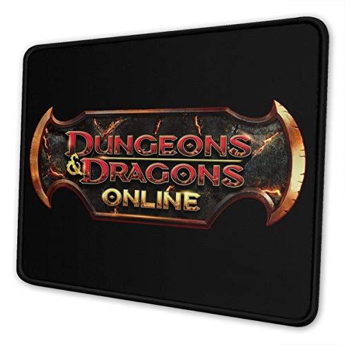 vjgdlz Mouse Pad Dungeons Dragons Online Anime Teclado De Oficina Mesa De Goma Personalizado 25X30Cm Rectángulo Antideslizante Alfombrilla De Ratón Duradera Computadoras Impresas Colorid