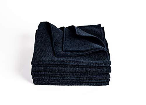 Bayeta Microfibra Negra Marca Clean 2