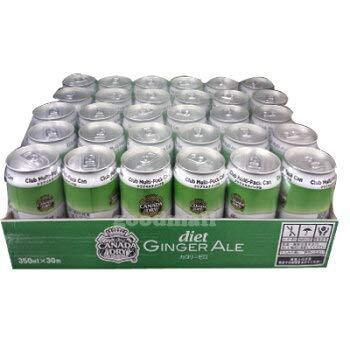 ■コストコ■カナダドライダイエットジンジャエール350ml×30缶