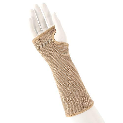 "Actifi I Firm Wrist Support – 10"" Elastic Pullover Hand Brace Wrap, Regular"