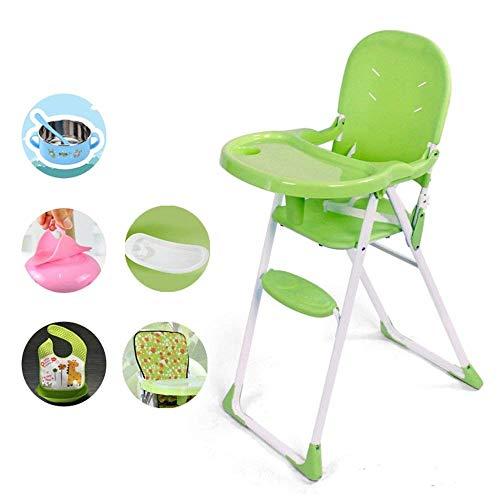 NMDD Kinder-Esszimmerstuhl Klappbarer Baby-Baby-Multifunktions-Esstisch Stuhl Tragbarer IKEA-Lernsitz zum Essen Stuhl Kinder-Klappstuhl