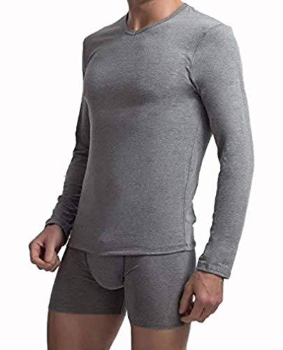 Abanderado Camiseta Manga Larga termorreguladora X-Temp térmica, Gris (Gris Vigoré 1AM), XX-Large (Tamaño del Fabricante:XXL/60) para Hombre