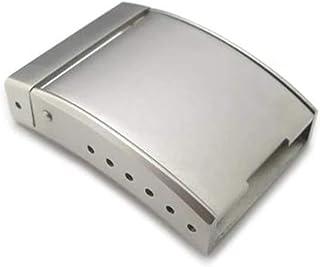 Codice Strapcode 20 mm, 22 mm o 24 mm sabbiato solido cinturino di chiusura (chiusura a molla per cintura di sicurezza)