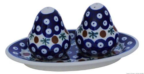 Bunzlauer keramik pot en céramique poivre et salière motif 41