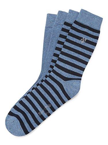 Marc O'Polo Body und Beach SVEA Damen Socken, Blau (Jeansblau 816), 35/38 (Herstellergröße: 400)