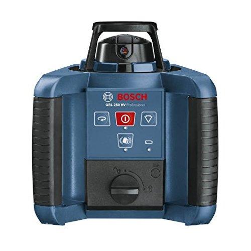 Preisvergleich Produktbild Bosch Professional 0601061600 Bosch GRLHV250R Rotierende Laser Level Plus Fernbedienung-0601061600,  15 V,  Blau
