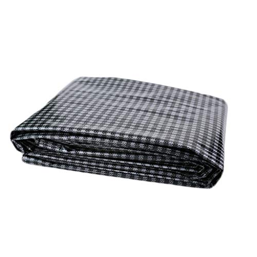 Funda Muebles Jardin Funda Para Muebles De JardíN Espesar Lona de lona impermeable Cubiertas de la lámina para el suelo Carpa Impermeabilizante Protector solar Resistente al aire libre, Tallas múltipl