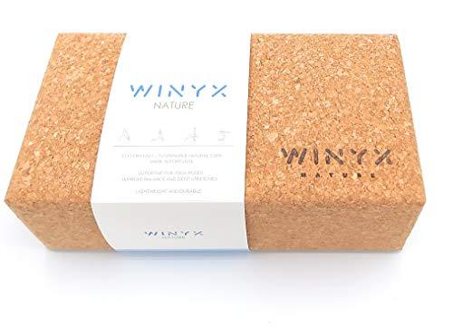 WINYX Bloque Yoga Corcho Natural