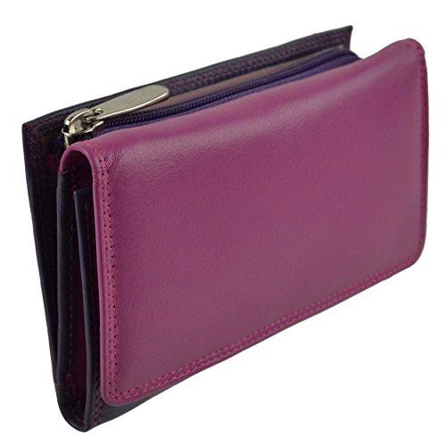 Golunski–Tasche/Geldbörse Damen Echt Leder Handtasche, Gelb - Gelb - Coucher de Soleil - Größe: unbekannt