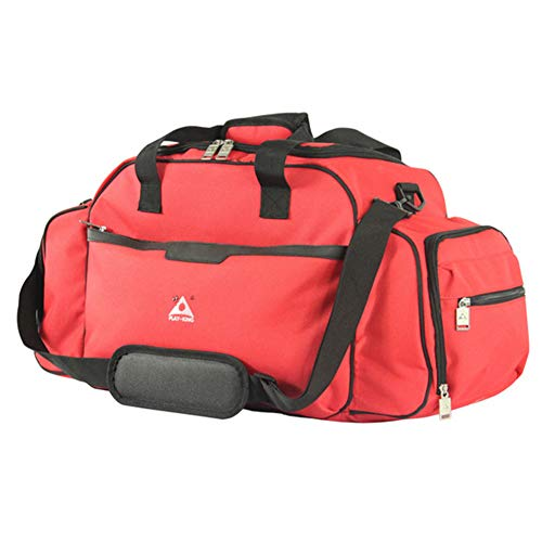 CYCPACK Heated USB Charging Multifunctional Travel Bag - Large Capacity Business Trip Outing Picnic Sports Bag, Carry on Luggage for Men And Women,Red
