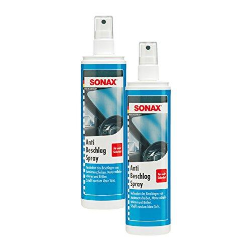 SONAX 2X 03550410 AntiBeschlagSpray KlarSicht 300ml