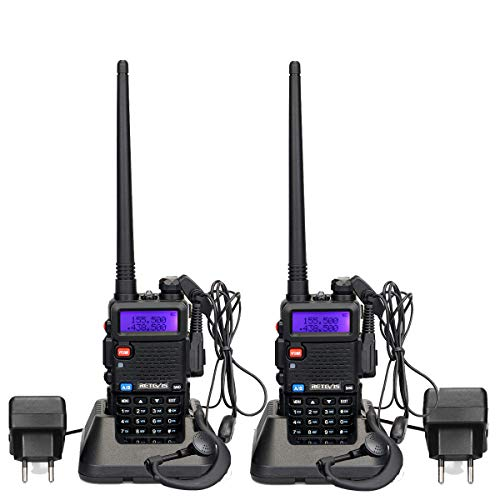 Bingfu Walkie Talkie Adaptador de Antena Adaptador UHF Macho a Hembra Conector 2 piezas Compatible con Radio CB Radio Bidireccional Port/átil SDR Radio jam/ón Esc/áner Baofeng
