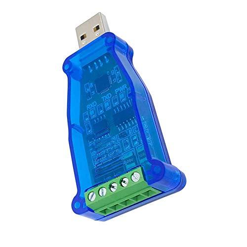 USB a RS485 convertidor adaptador de puerto serie con chip CH340 compatible con Windows 7 8 10 Linux Mac OS nuevo