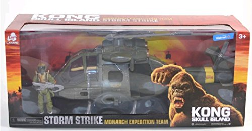 Kong Skull Island Monarch Expedition Team Storm Strike Helicopter