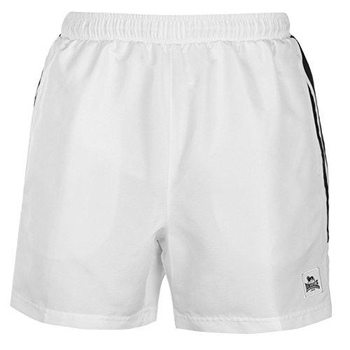 Lonsdale Herren Short Gr. XL, weiß/schwarz