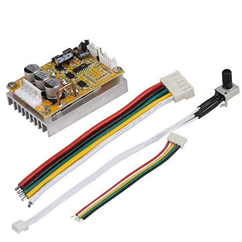 OGUAN PCB Tablero, 5V-36V Controlador de Motor DC sin escobillas de 350W, la Tarjeta del Controlador PWM BLDC Prototipo de Doble Cara