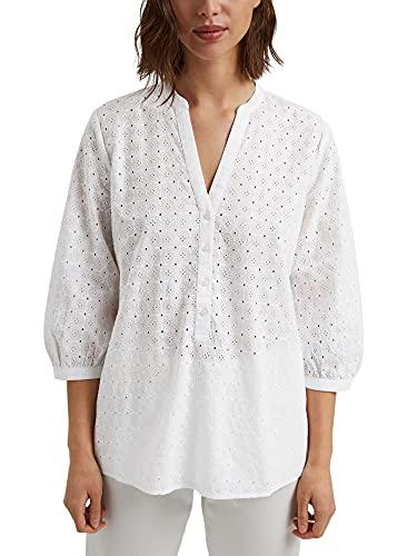 ESPRIT 041EE1F304 Camicia da Donna, 100/White, 38