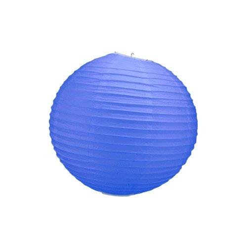 Skylantern Original 1484 Lanterne Boule Papier Bleu Roi 50 cm