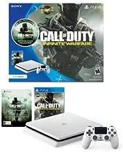 White PlayStation 4 Slim 500GB Call of Duty: Infinite Warfare Bundle