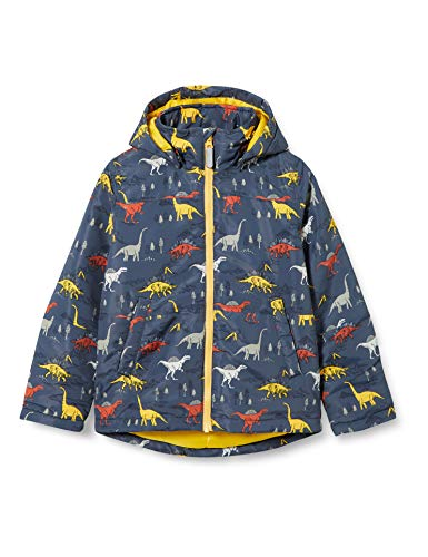 NAME IT Jungen NMMMAX Jacket Dinosaur Steppjacke, Ombre Blue, 92