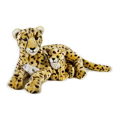 NATIONAL GEOGRAPHIC Cheetah with Baby Plush Set