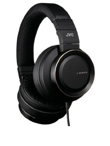 JVC Real Sound System Z Series HA-SZ2000 Stream Woofer DB Headphones (Black, Japan import)