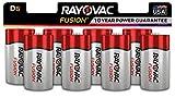 Best D Batteries - Rayovac Fusion D Batteries, Premium Alkaline D Cell Review